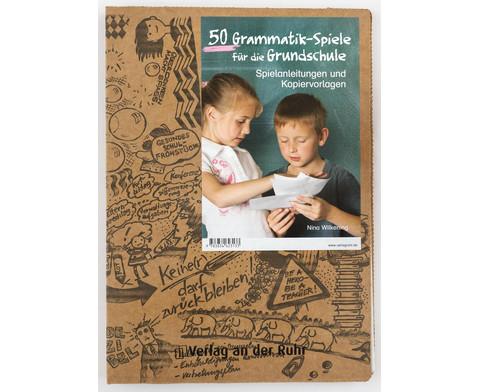 50 Grammatik-Spiele fuer die Grundschule - Klasse 2-4