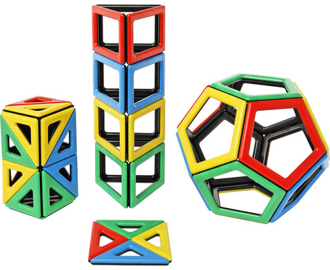 Magnetic Polydron - Erweiterungsset-1