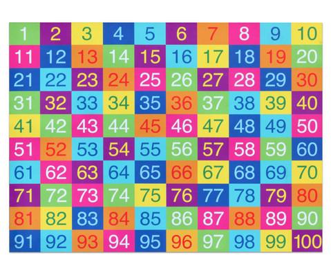 Betzold Farbenfroher Hunderter-Teppich