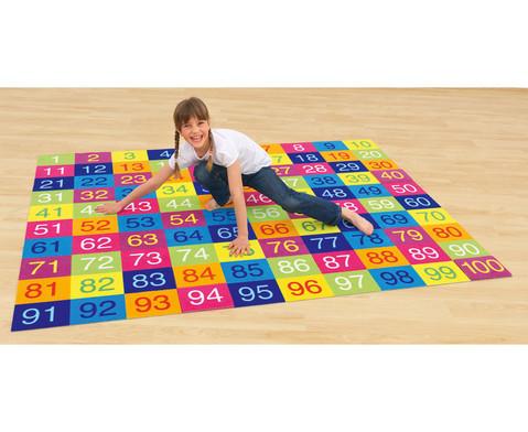 Farbenfroher Hunderter-Teppich-2