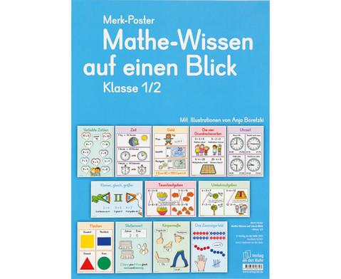 Mathe-Wissen auf einen Blick - Klasse 1 - 2-1