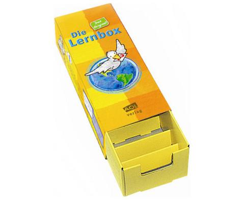 Lernbox aus Leichtkarton 10 Stueck