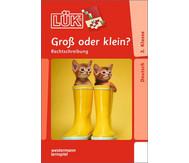 LÜK-Heft: Groß oder klein?