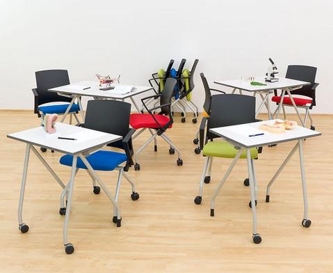 Fahrbarer Stuhl-13