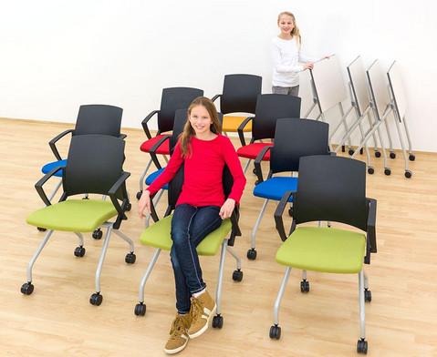 Fahrbarer Stuhl-14