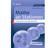 Mathe an Stationen - Spezial Bruchrechnen Klasse 5.-10.