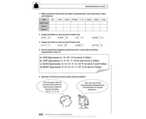 Mathematik ueben Klasse 6-2