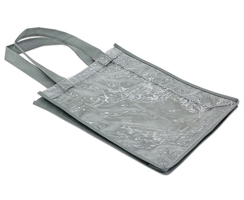 Tasche A4 Hochformat grau-3