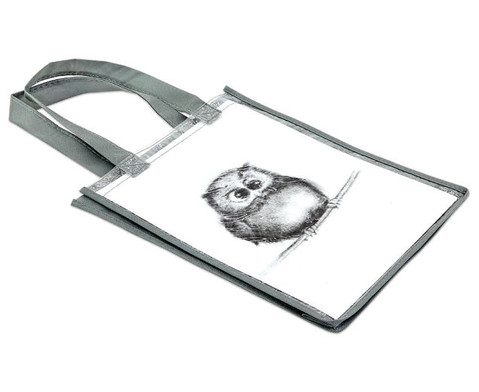 Tasche A4 Hochformat grau-5