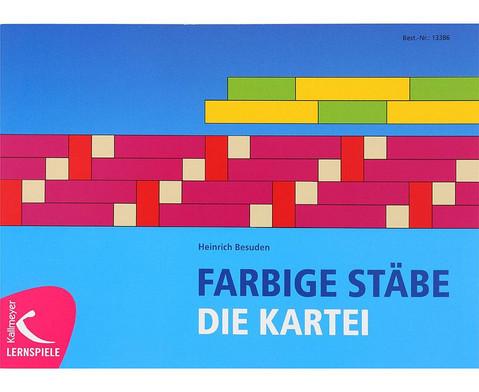 Farbige Staebe - Die Kartei-1