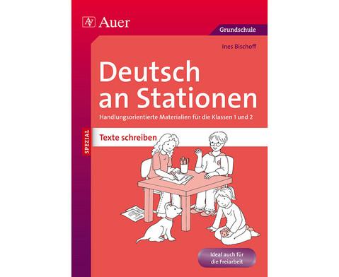 Deutsch an Stationen Klasse 1-2 - Texte Schreiben-1