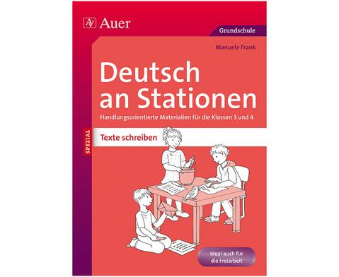 Deutsch an Stationen Klasse 3-4 - Texte Schreiben-1