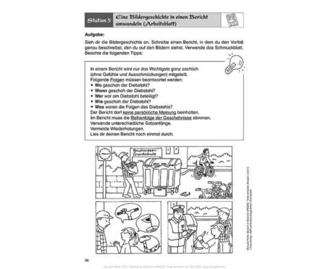 Deutsch an Stationen Klasse 3-4 - Texte Schreiben-2
