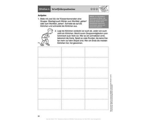 Deutsch an Stationen Klasse 3-4 - Texte Schreiben-5