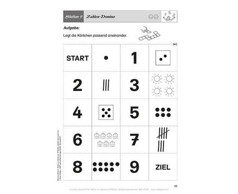 Mathe an Stationen Zahlen kennenlernen-3