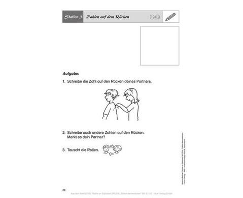 Mathe an Stationen Zahlen kennenlernen-4