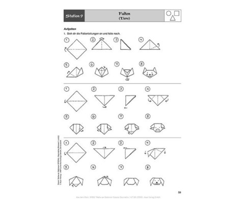 Mathe an Stationen - Geometrie Klasse 1 und 2-2
