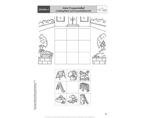 Mathe an Stationen - Geometrie Klasse 1 und 2-5