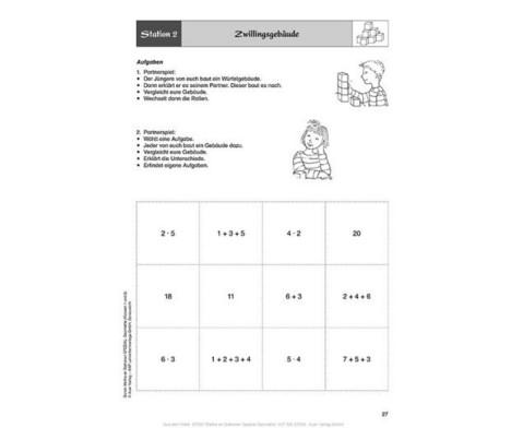 Mathe an Stationen - Geometrie Klasse 1 und 2-7