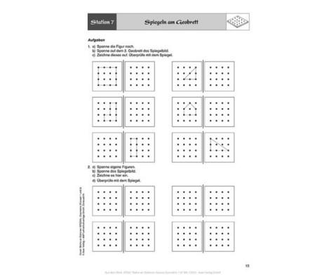 Mathe an Stationen - Geometrie Klasse 1 und 2-8