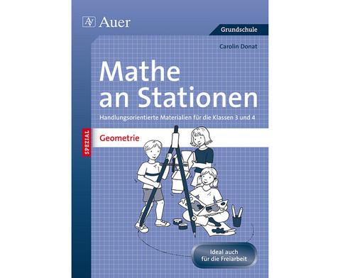 Mathe an Stationen - Geometrie Klasse 3 und 4-1