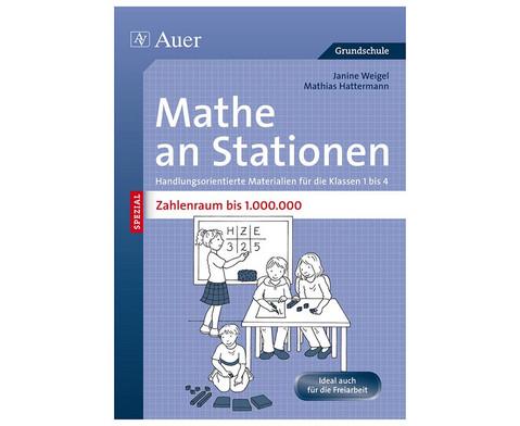 Mathe an Stationen - Zahlenraum bis 1 Mio-1