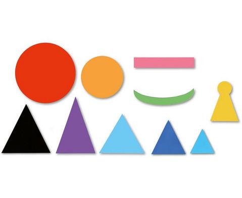 Magnetische Wortartensymbole grosses Set