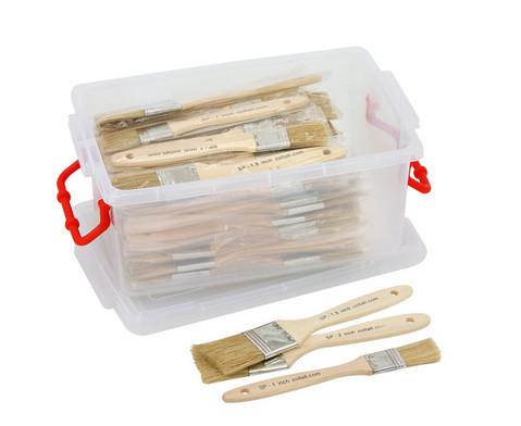 Schulpinsel-Set 72 Breite Pinsel-1