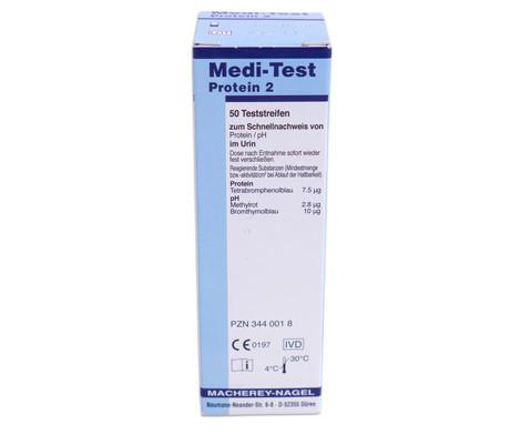 Teststreifen Protein 2-3