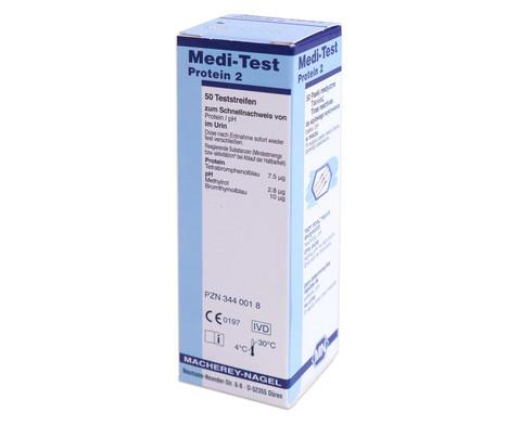 Teststreifen Protein 2-4