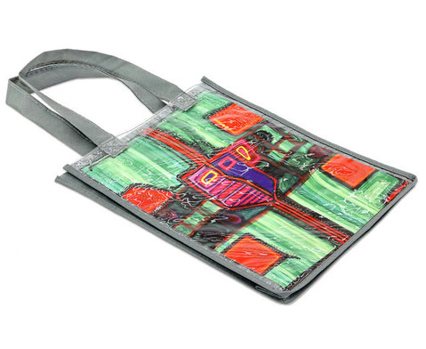 Tasche A4 Hochformat grau-2