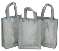 Tasche A4 Hochformat, grau