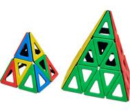 Polydron magnetisch, gleichschenklige Dreiecke