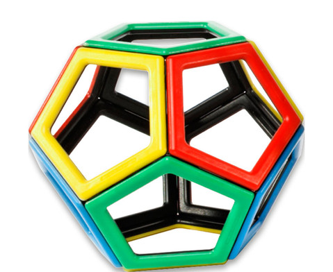 Magnetic Polydron - Fuenfecke