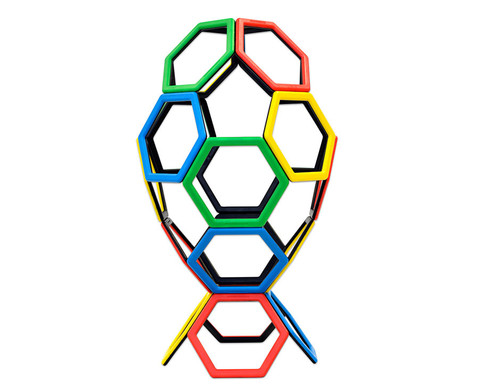 Magnetic Polydron - Sechsecke-1