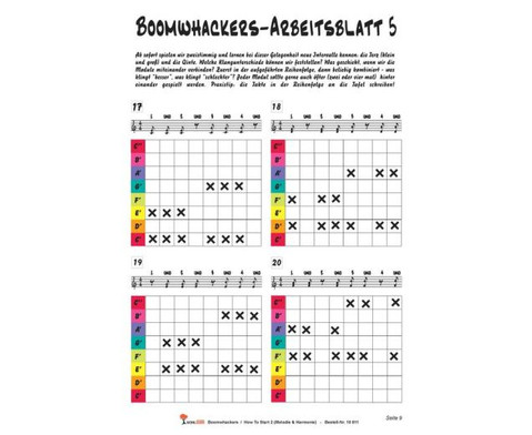 Boomwhackers How To Start 2-3