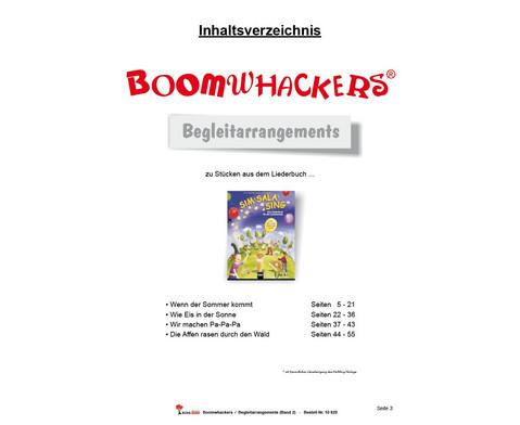 Boomwhackers - Begleitarrangements 2-5