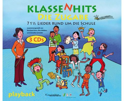 KlassenHits - Die Zugabe 3er-Playback CD-Paket-1