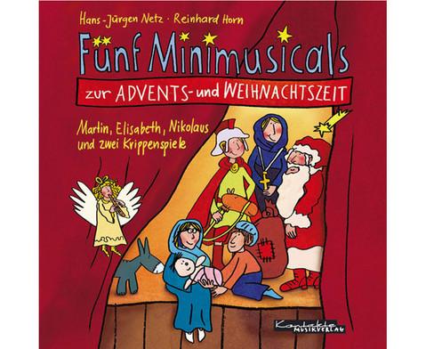 CD Minimusicals Spielzeit ca 70 min-1