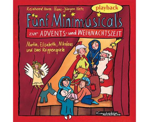 Playback-CD Minimusicals Spielzeit ca 70 min-1