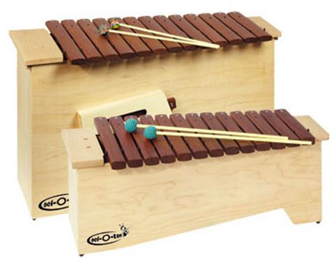 Xylophon-Gruppe Alt und Bass
