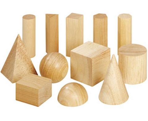 Geometriekoerper aus Holz 12 Stueck-1