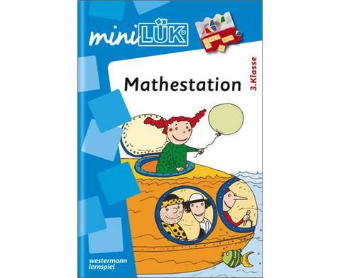miniLUEK-Heft Mathestation 3 Klasse-1