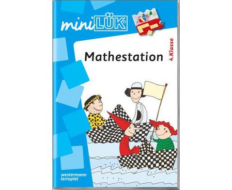 miniLUEK-Heft Mathestation 4 Klasse-1