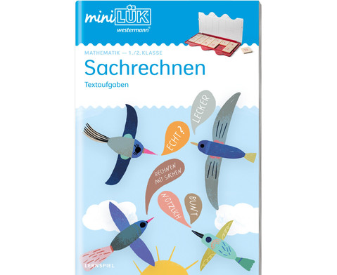 miniLUEK-Heft Sachrechnen 1-2 Klasse