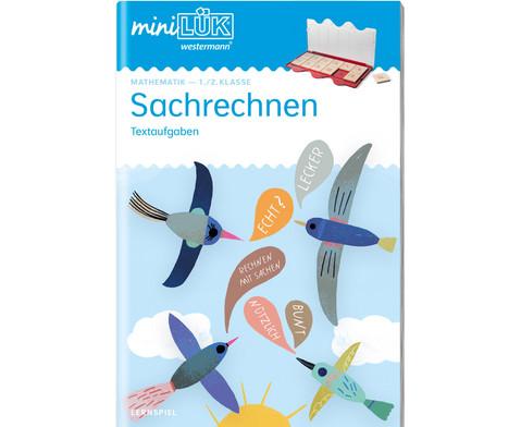 miniLUEK-Heft Sachrechnen