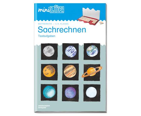 miniLUEK-Heft Sachrechnen 3-4 Klasse