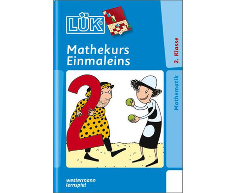LUEK-Heft Mathekurs 1 x 1 ab 2 Klasse-1