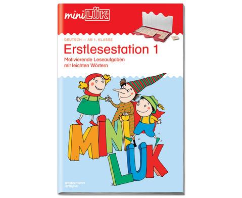 miniLUEK-Heft Erstlesestation 1