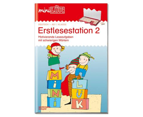 miniLUEK-Heft Erstlesestation 2-1